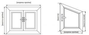 Инструкция по замеру вертикальных жалюзи