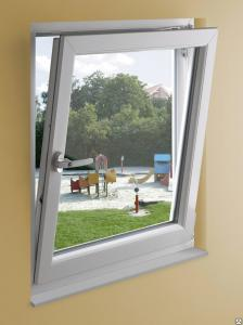 Окна ПВХ одностворчатые поворотно-откидные