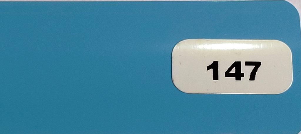 Жалюзи горизонтальные  голубой глянец 147 купить по низкой цене в интернет-магазине okno19.ru