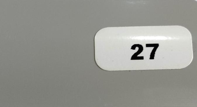 Жалюзи горизонтальные серый глянец 27