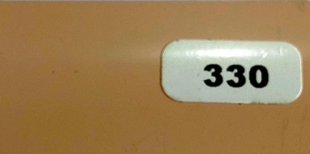 Жалюзи горизонтальные светло-персиковый матовый 330