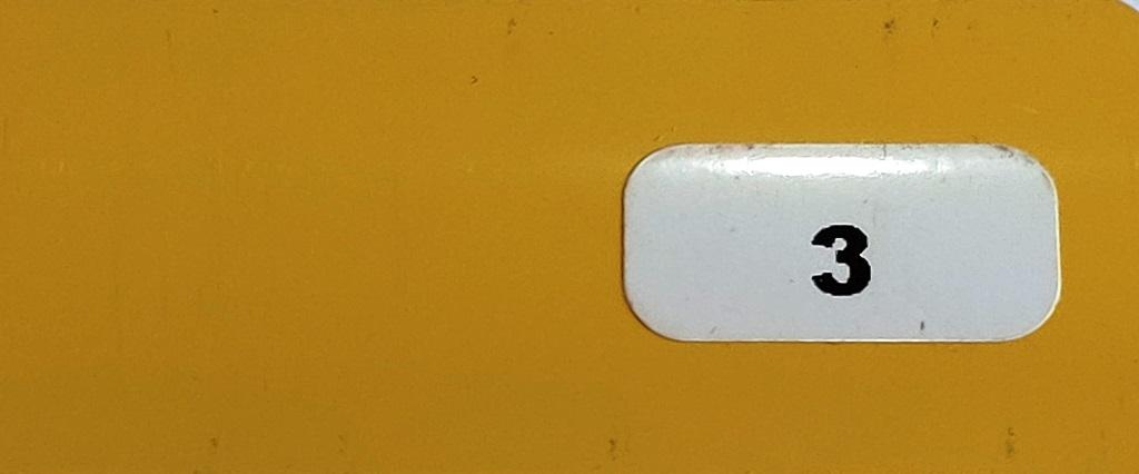 Жалюзи горизонтальные жёлтый глянец 3 купить по низкой цене в интернет-магазине okno19.ru