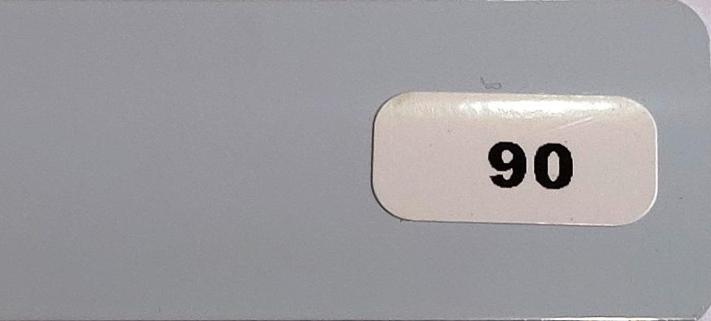 Жалюзи горизонтальные серо-голубой глянец 90 купить по низкой цене в интернет-магазине okno19.ru