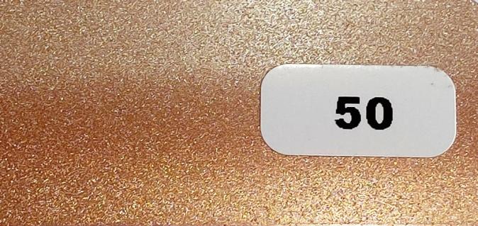 Жалюзи горизонтальные  розовое золото металлик 50 купить по низкой цене в интернет-магазине okno19.ru