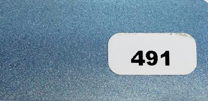Жалюзи горизонтальные голубой матовый металлик 491 купить по низкой цене в интернет-магазине okno19.ru
