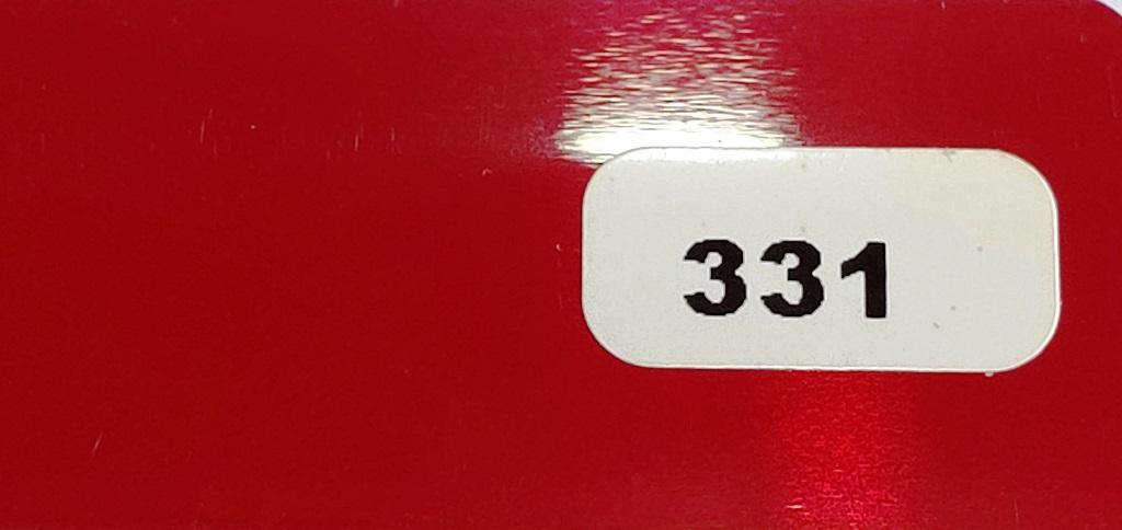 Жалюзи горизонтальные темно-красный глянец 331 купить по низкой цене в интернет-магазине okno19.ru