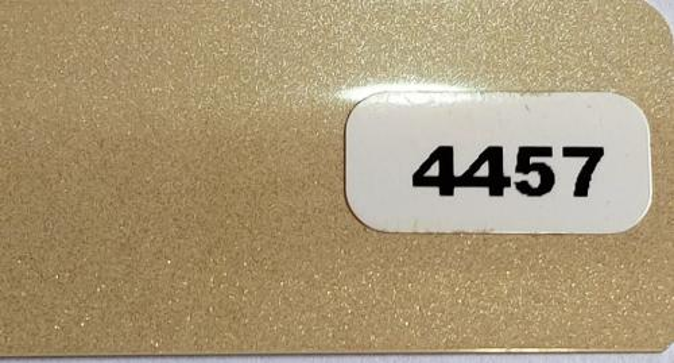 Жалюзи горизонтальные темно-бежевый  металлик 4457 купить по низкой цене в интернет-магазине okno19.ru