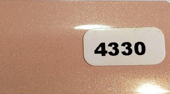 Жалюзи горизонтальные светло-розовый металлик 4330 купить по низкой цене в интернет-магазине okno19.ru