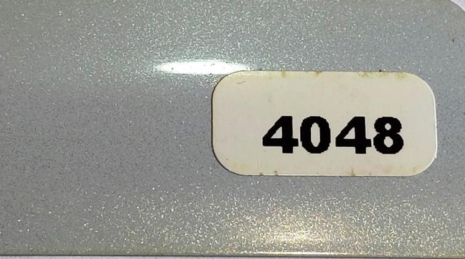Жалюзи горизонтальные серебристый металлик 4048 купить по низкой цене в интернет-магазине okno19.ru