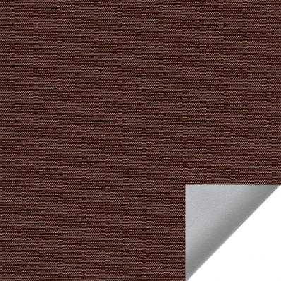 Рулонные шторы АЛЬФА ALU BLACK-OUT 2871 т. коричневый купить по низкой цене в интернет-магазине okno19.ru