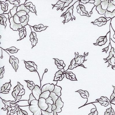 Рулонные шторы Китайская роза 1908 черный купить по низкой цене в интернет-магазине okno19.ru
