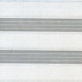 Рулонные шторы-зебра АДАЖИО 0225 белый купить по низкой цене в интернет-магазине okno19.ru