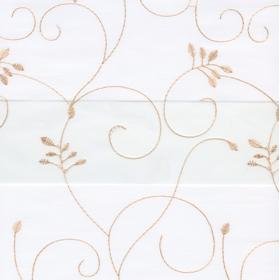 Рулонные шторы-зебра ВАЛЕНСИЯ 0225 белый купить по низкой цене в интернет-магазине okno19.ru