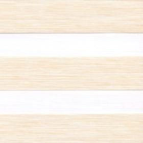 Рулонные шторы-зебра ДАЙКИРИ 3144 ванильный купить по низкой цене в интернет-магазине okno19.ru