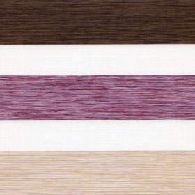 Рулонные шторы-зебра ДАЙКИРИ 4858 вишневый купить по низкой цене в интернет-магазине okno19.ru