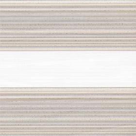 Рулонные шторы-зебра ДАКОТА 2406 бежевый купить по низкой цене в интернет-магазине okno19.ru