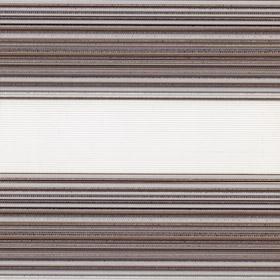 Рулонные шторы-зебра ДАКОТА 5173 голубой купить по низкой цене в интернет-магазине okno19.ru