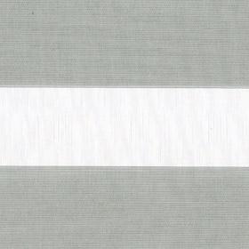 Рулонные шторы-зебра МЕТАЛЛИК 1608 св.серый купить по низкой цене в интернет-магазине okno19.ru