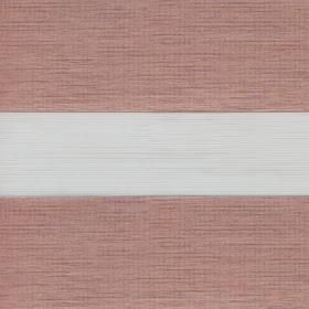 Рулонные шторы-зебра ПАЛАС 4227 розовое золото купить по низкой цене в интернет-магазине okno19.ru