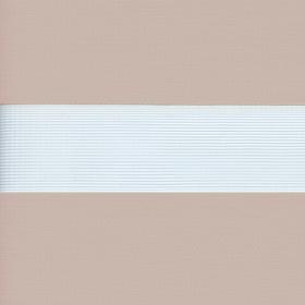 Рулонные шторы-зебра СОФТ 2406 бежевый купить по низкой цене в интернет-магазине okno19.ru