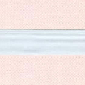 Рулонные шторы-зебра СОФТ 2552 кремовый купить по низкой цене в интернет-магазине okno19.ru