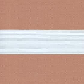Рулонные шторы-зебра СОФТ 2868 светло-коричневый купить по низкой цене в интернет-магазине okno19.ru