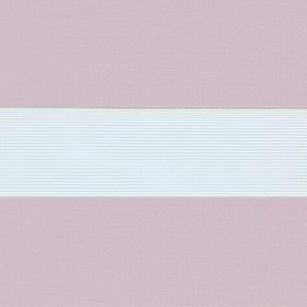 Рулонные шторы-зебра СОФТ 4264 светло-лиловый купить по низкой цене в интернет-магазине okno19.ru