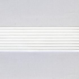 Рулонные шторы-зебра СТАНДАРТ 1606 светло-серый купить по низкой цене в интернет-магазине okno19.ru