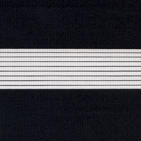 Рулонные шторы-зебра СТАНДАРТ 1908 черный купить по низкой цене в интернет-магазине okno19.ru