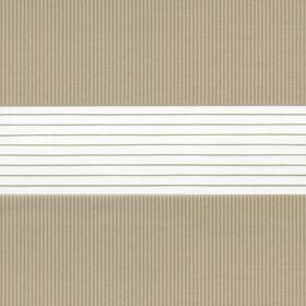 Рулонные шторы-зебра СТАНДАРТ 2406 бежевый купить по низкой цене в интернет-магазине okno19.ru