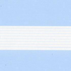 Рулонные шторы-зебра СТАНДАРТ 5102 св. голубой купить по низкой цене в интернет-магазине okno19.ru