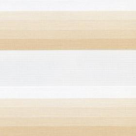 Рулонные шторы-зебра СТЕП 2406 бежевый купить по низкой цене в интернет-магазине okno19.ru