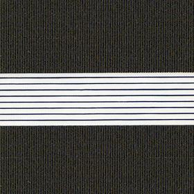 Рулонные шторы-зебра ЭЛЕКТРА 1907 черное золото купить по низкой цене в интернет-магазине okno19.ru