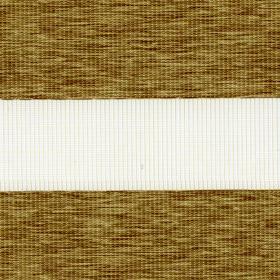 Рулонные шторы-зебра ЭТНИК 2746 т. бежевый купить по низкой цене в интернет-магазине okno19.ru