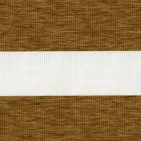 Рулонные шторы-зебра ЭТНИК 2868 св. коричневый купить по низкой цене в интернет-магазине okno19.ru