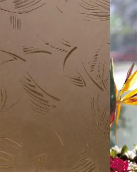 Стекло Шале бронза матированное 4 мм купить по низкой цене в интернет-магазине okno19.ru