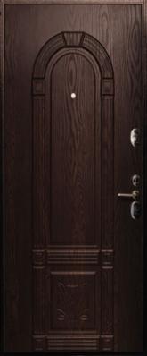 Дверь 3К - 3D Металл/МДФ Венге (960*2050*90*1,8 мм) правая /минплита/ купить по низкой цене в интернет-магазине okno19.ru