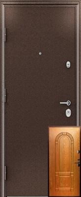 Дверь 3К - 3D Металл/МДФ Миланский орех (960*2050*90*1,8 мм) правая /минплита/ купить по низкой цене в интернет-магазине okno19.ru