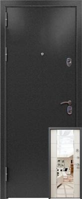 Дверь 3К-MIRROR Металл/МДФ Миландж светлый (860*2050*90*1,8 мм) правая /минплита/ купить по низкой цене в интернет-магазине okno19.ru