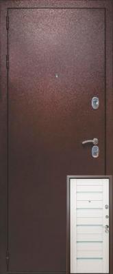 Дверь 3К-TECHNO Металл/МДФ Белый венге (860*2050*90*1.8 мм) левая /минплита/ купить по низкой цене в интернет-магазине okno19.ru
