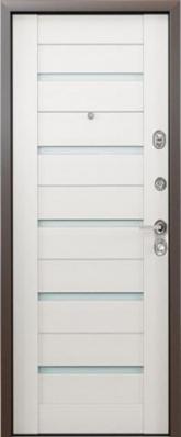 Дверь 3К-TECHNO Металл/МДФ Белый венге (960*2050*90*1,8 мм) правая /минплита/ купить по низкой цене в интернет-магазине okno19.ru