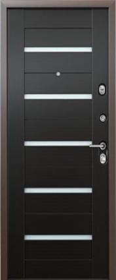 Дверь 3К-TECHNO Металл/МДФ Венге (860*2050*90*1,8 мм) левая /минплита/ купить по низкой цене в интернет-магазине okno19.ru