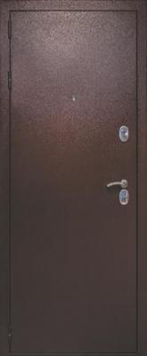 Дверь 3К-TECHNO Металл/МДФ Венге (860*2050*90*1,8 мм) правая /минплита/ купить по низкой цене в интернет-магазине okno19.ru