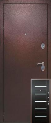 Дверь 3К-TECHNO Металл/МДФ Венге (960*2050*90*1,8 мм) левая /минплита/ купить по низкой цене в интернет-магазине okno19.ru
