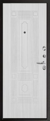 Дверь 3К-Тепло Металл/МДФ Беленый дуб (960*2050*100*1,8 мм) левая купить по низкой цене в интернет-магазине okno19.ru