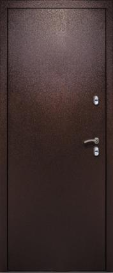 Дверь 3К-Тепло Металл/МДФ Дуб шоколад (860*2050*100*1,8 мм) правая купить по низкой цене в интернет-магазине okno19.ru