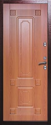 Дверь 3К-Тепло Металл/МДФ Миланский орех (960*2050*100*1,8 мм) правая купить по низкой цене в интернет-магазине okno19.ru