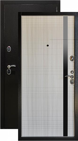 Дверь Глория Металл/МДФ Сандал белый (860*2050*90*1,8 мм) правая /минплита/ купить по низкой цене в интернет-магазине okno19.ru