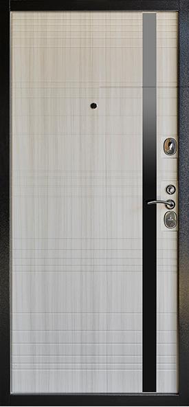 Дверь Глория Металл/МДФ Сандал белый (960*2050*90*1,8 мм) правая /минплита/ купить по низкой цене в интернет-магазине okno19.ru