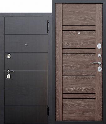 Дверь Чикаго МДФ Венге/МДФ Дуб шале корица (860*2050*105*1,5 мм) левая купить по низкой цене в интернет-магазине okno19.ru